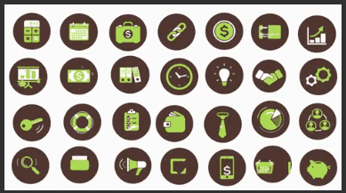 Animated Flat Video Assets