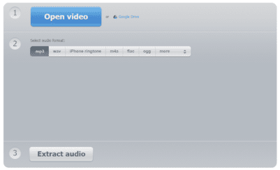 free video to audio converter free audio extractor