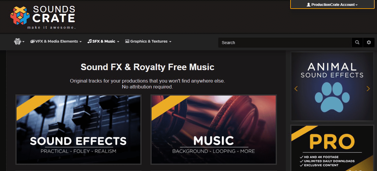 Free music and sound effects