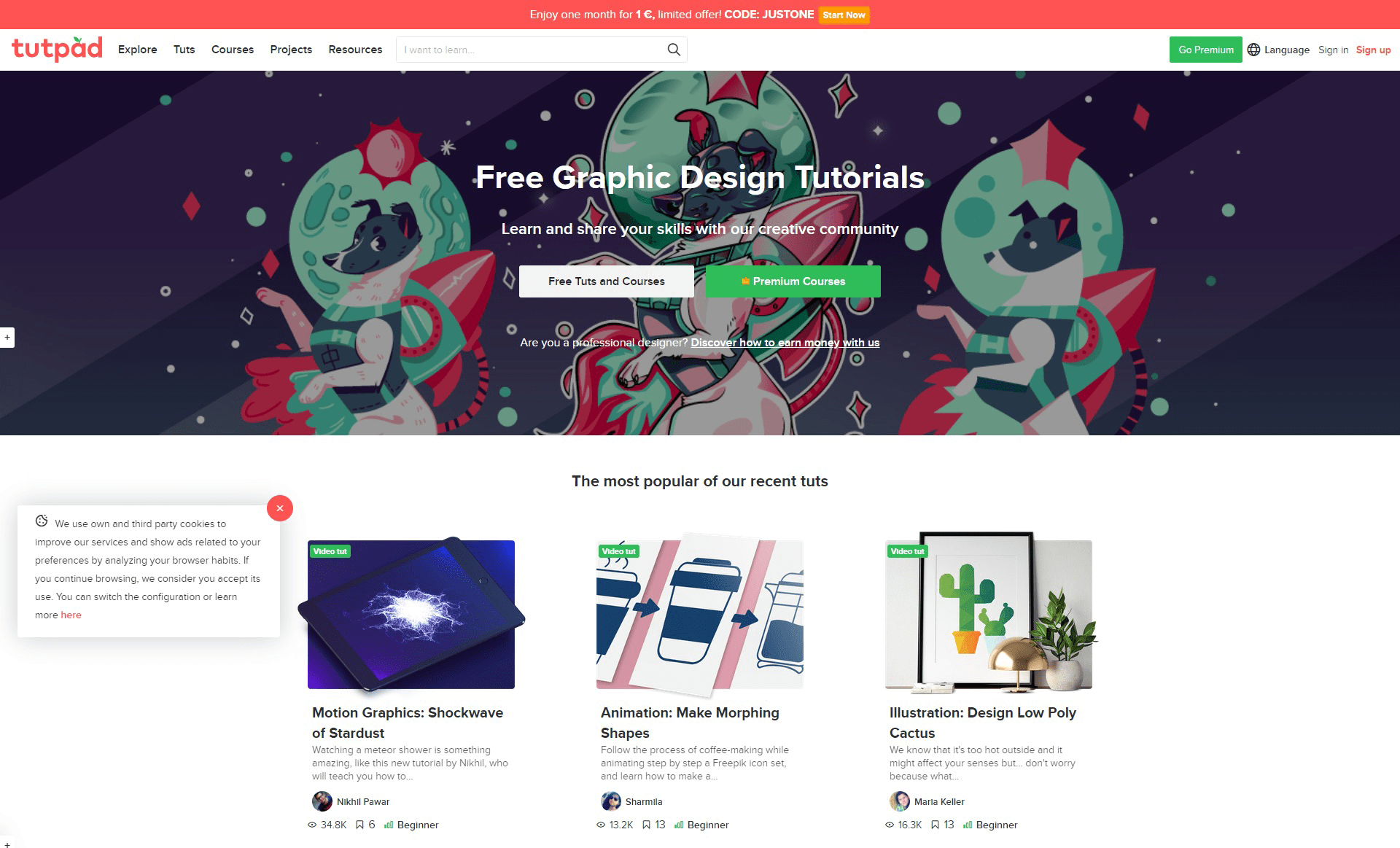 free graphics design tutorials