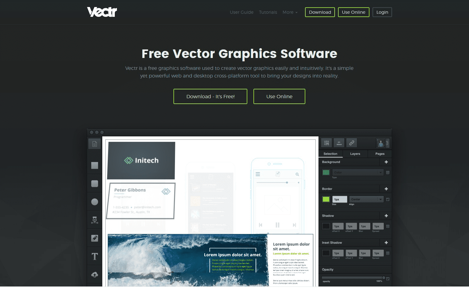 free vector graphics software adobe illustrator alternative