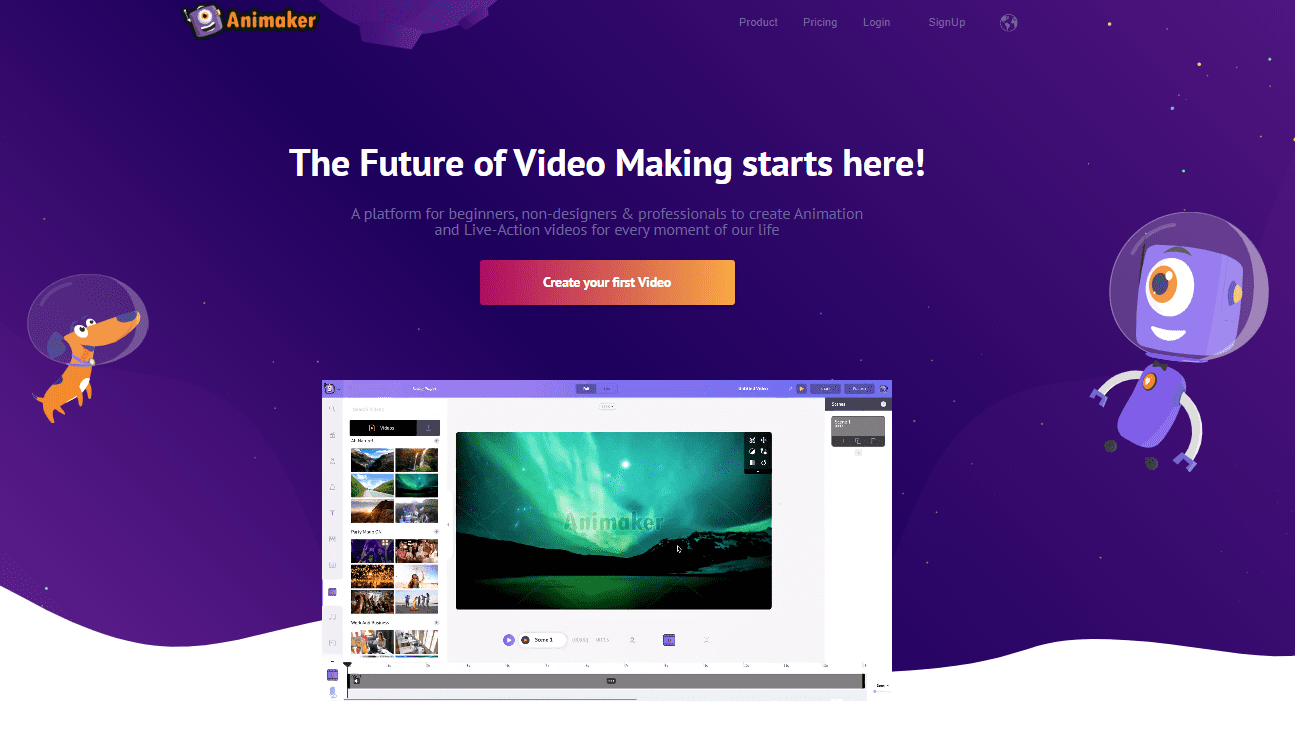Animaker Free Video Creator