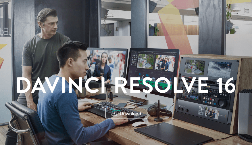 Davinci resolve free video editor