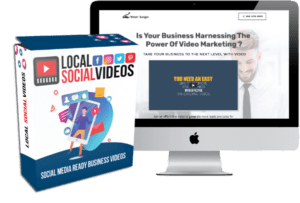 Local Social Videos & Video Portfolio Landing Page Site